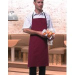 PR101 Colours Bib Apron Without Pocket