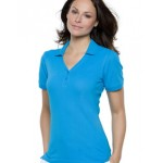 KK732 Ladies Sophia V Neck Polo