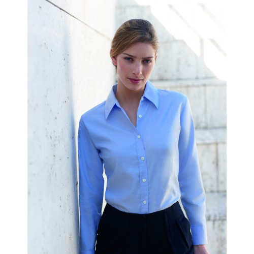 135dafe6 SS111 Lady Long Sleeved Oxford Shirt - from category Formalwear (Union  Leisurewear)