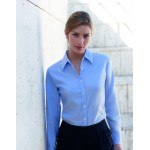 SS111 Lady Long Sleeved Oxford Shirt