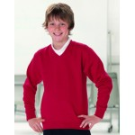 KIDS V-NECK SWEATSHIRT