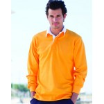 FR01 Long Sleeved Plain Rugby Shirt