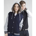 SF512 Baseball Jacket with detachable Hood